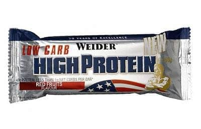 High Protein Low Carb Bar - Weider High Protein Low Carb Bar 50g - čokoláda