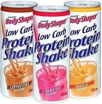 Low Carb Protein Shake 250ml. - Body Shaper