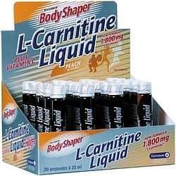L-Carnitine 1800mg 20x 25ml. - Body Shaper