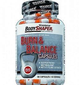 Burn & Balance Capsules 90kapslí - Weider Body Shaper