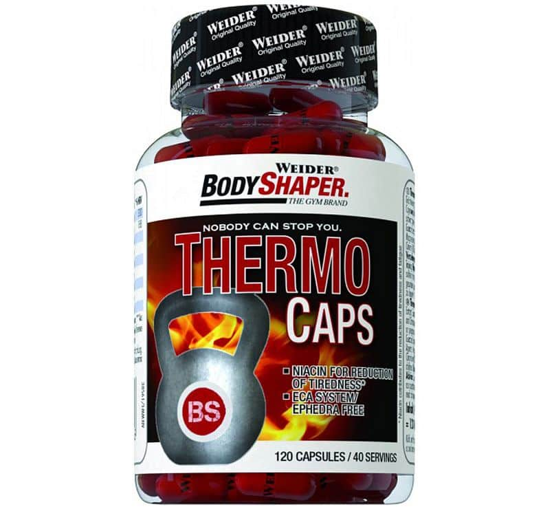 Weider Body Shaper Thermo Caps 120kps