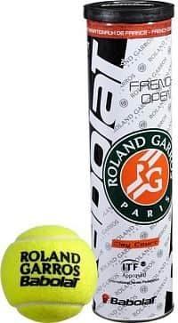French Open Clay tenisové míče 4 ks