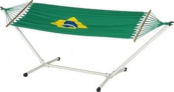 Jobek BRASILIEN SET - houpací síť + kovový stojan ADVANT 120