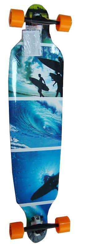 Longboard SPARTAN Surfer Blue