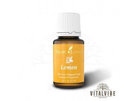 Citrónový esenciální olej - 15 ml