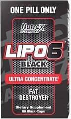Nutrex Lipo 6 BLACK Ultra Concentrate 60 kapslí