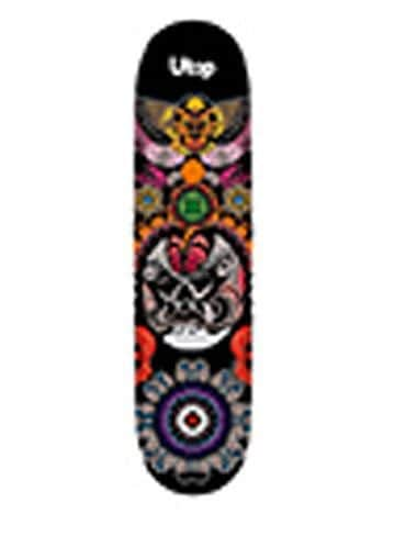 Skateboard SPARTAN Utop Board Mask Black