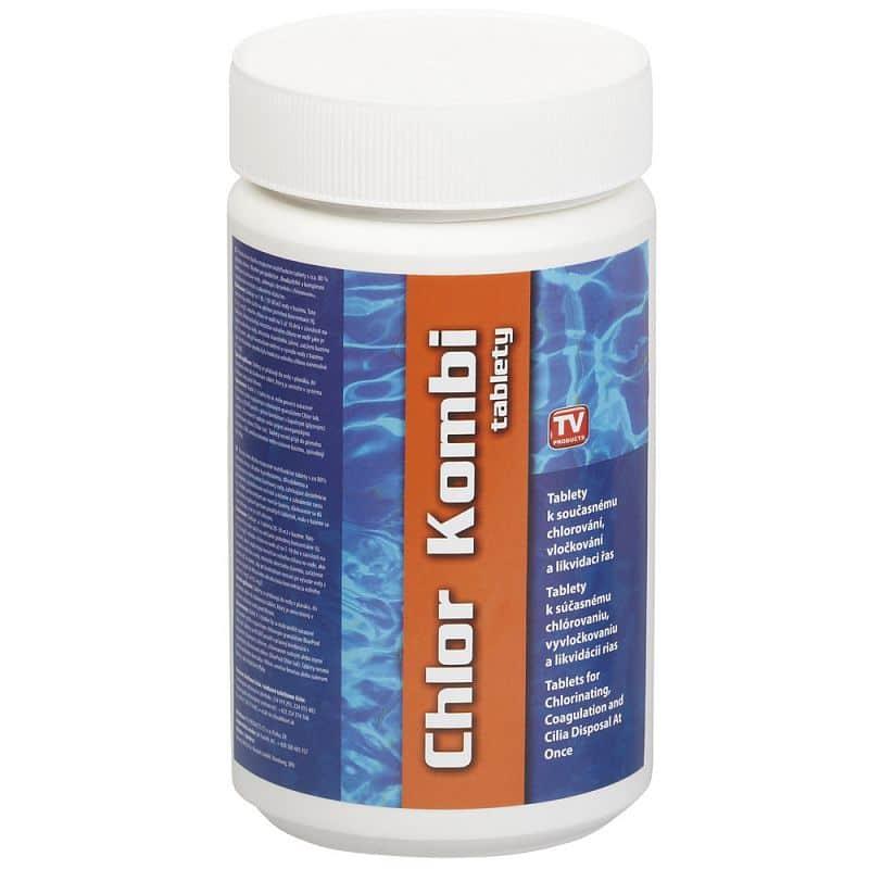 Bazénové chlor kombi tablety Bestway 1 kg