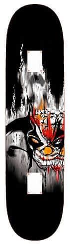 Skateboard SPARTAN Skateboard Utop Board Skull Demon