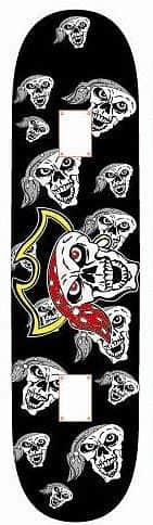 Skateboard SPARTAN Skateboard Utop Board Skull Pirate