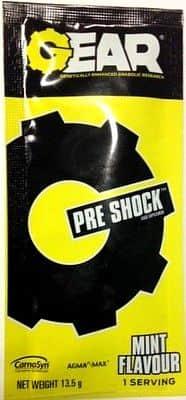 FA GEAR Pre Shock vzorek 13,5 g