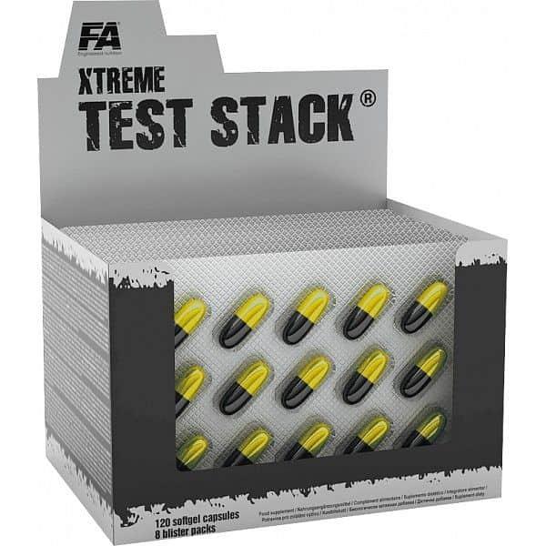 FA Xtreme Test Stack 120 kapslí
