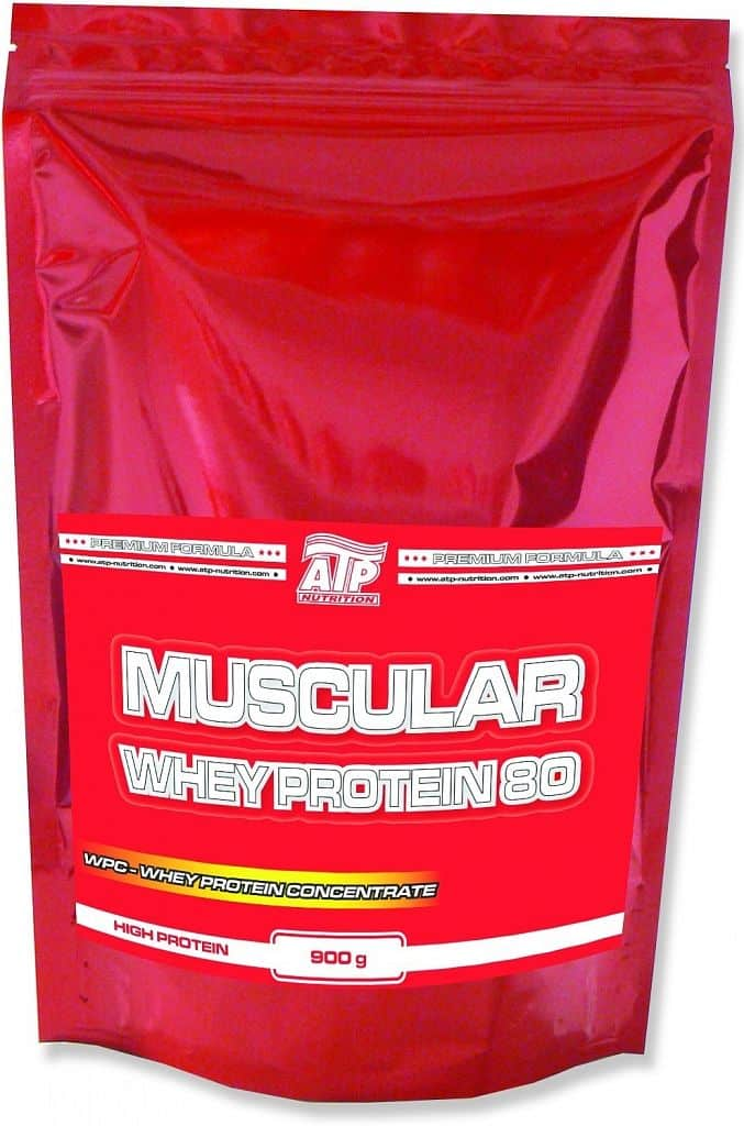 Muscular Whey Protein 80 900g Čokoláda