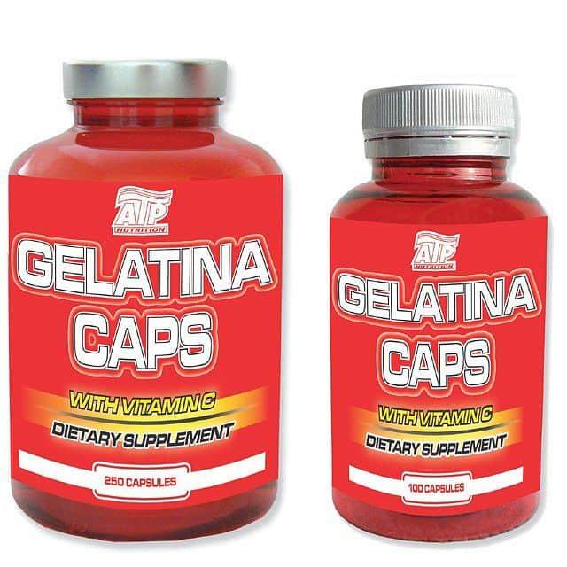 Gelatina Caps 250 + 100 cps ZDARMA!