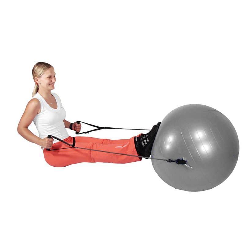 Gymnastický míč inSPORTline s úchyty 55 cm