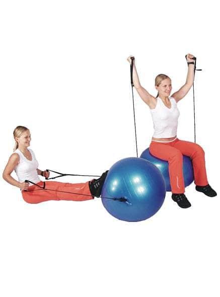 Gymnastický míč inSPORTline s úchyty 65 cm