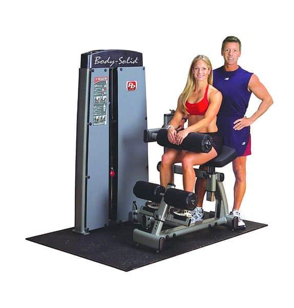 Posilovací stroj na břicho/záda - Body-Solid Pro-Dual DABB-SF Ab Crunch/Back extension