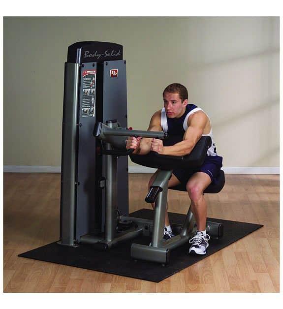 Posilovací stroj biceps/triceps - Body-Solid Pro-Dual DBTC-SF Bicep Curl/Triceps extension
