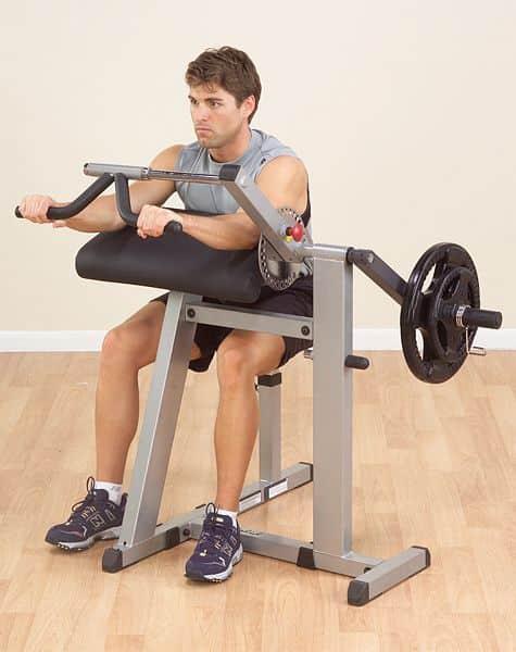 Posilňovacia lavica na Biceps a Triceps Body Solid GCBT380