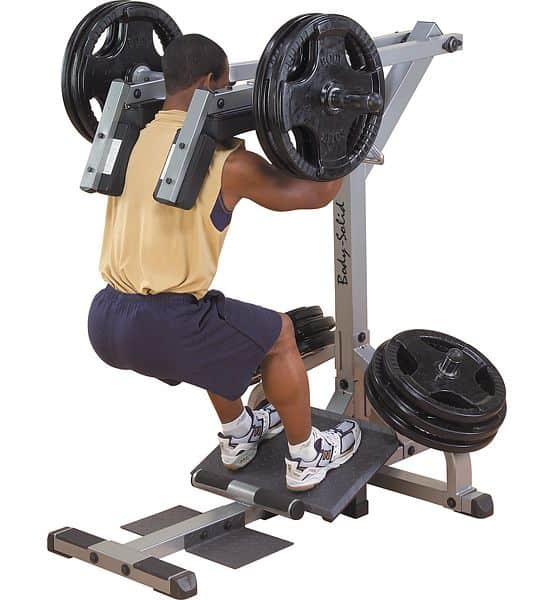 GSCL360 Body-Solid Leverage Squat/Calf machine