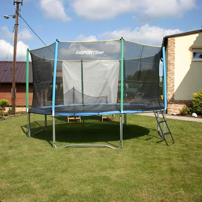 Ochranná sieť na trampolínu inSPORTline 180 cm + 6 tyčí