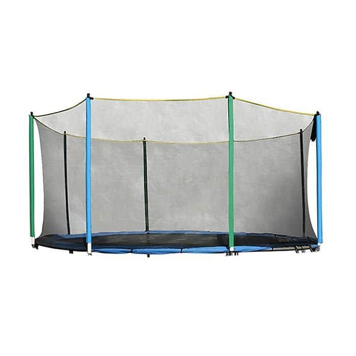 Ochranná síť na trampolínu inSPORTline 366 cm + 8 tyčí