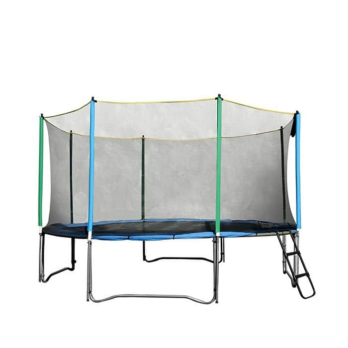 Ochranná síť na trampolínu inSPORTline 457 cm + 10 tyčí