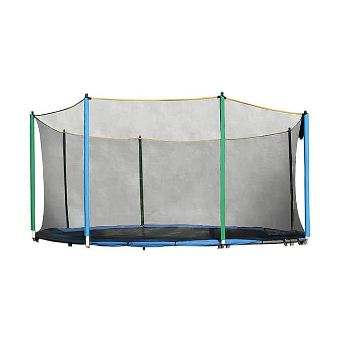 Ochranná síť na trampolínu inSPORTline 430 cm + 8 tyčí