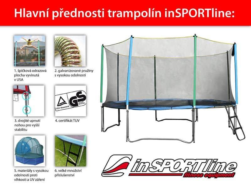 Trampolínový set inSPORTline Top Jump 366 cm