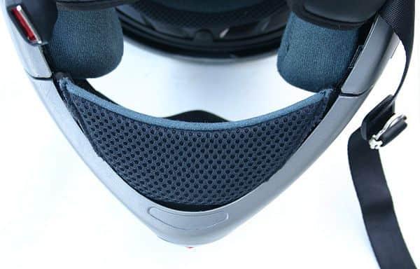 Bradový deflektor k přilbě V210
