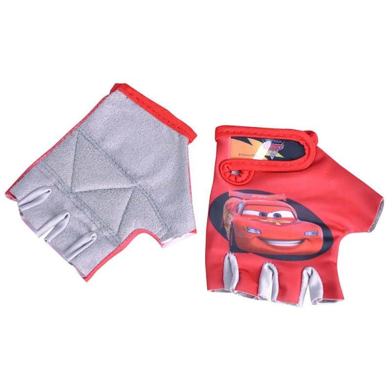 Dětské cyklo rukavice Disney Cars Barva červená