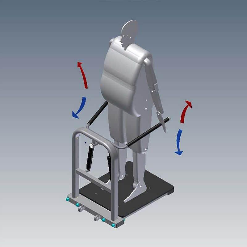 Posilovač nohou - Hydraulicline CEO200