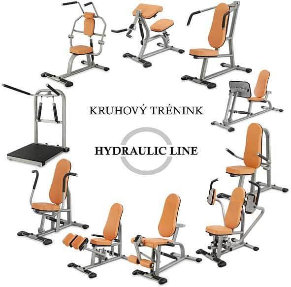 Posilovač prsních svalů - Hydraulicline CPD800