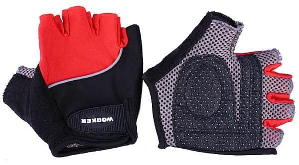 Cyklo a fitness rukavice WORKER  S900