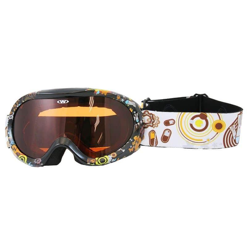 172d21649 Junior lyžiarske okuliare WORKER Doyle s grafikou