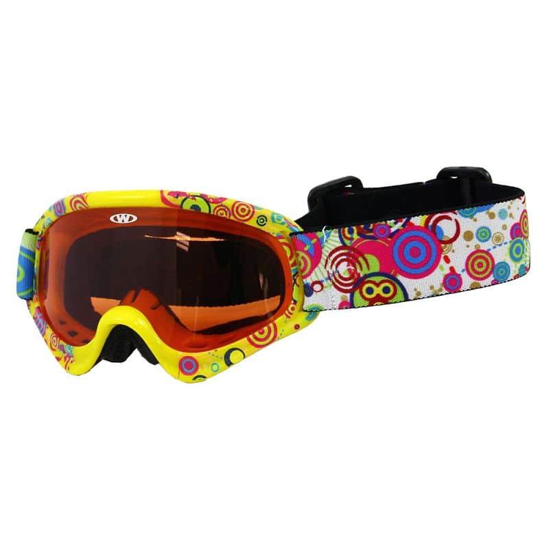 Dětské lyžařské brýle WORKER Sterling s grafikou