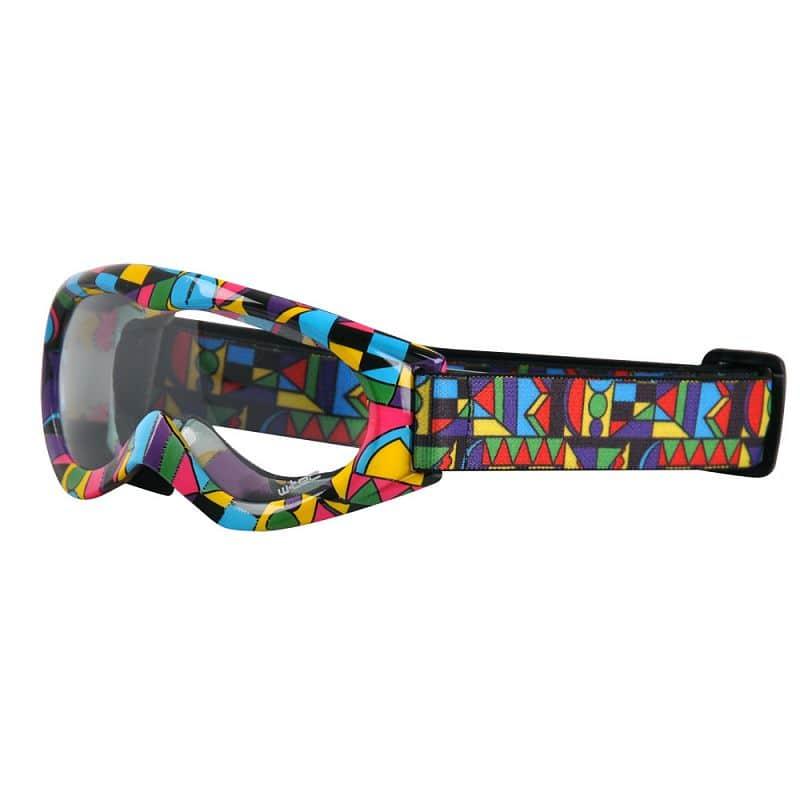 Motokrosové brýle kids W-TEC Spooner s grafikou Barva barevná grafika