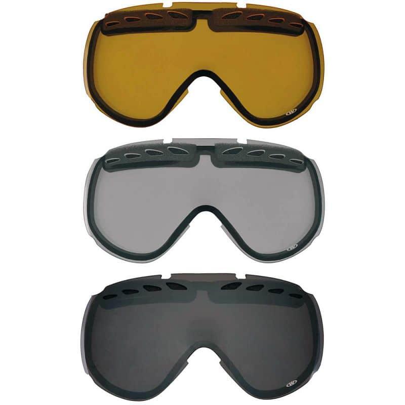 Náhradní sklo k brýlím WORKER Molly Barva čiré