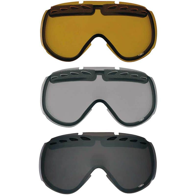 Náhradní sklo k brýlím WORKER Bennet Barva čiré