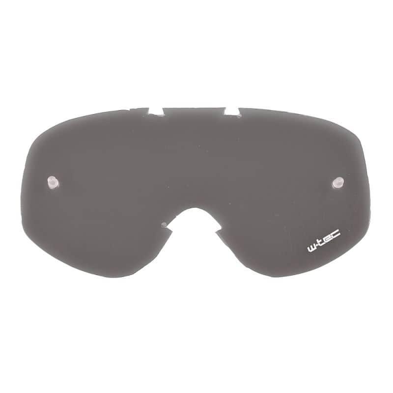 Náhradní sklo k moto brýlím W-TEC Spooner
