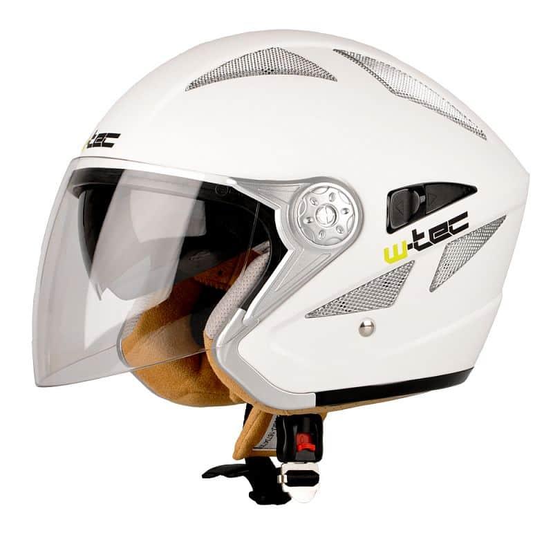 Moto helma W-TEC V529 Barva černá, Velikost XS (53-54)