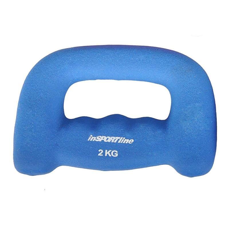 Neoprénová jednoručka inSPORTline Jogging 2 kg