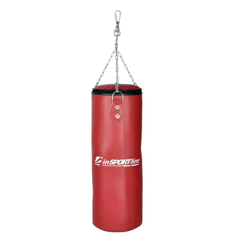 Dětský boxovací pytel inSPORTline 15 kg Barva červená