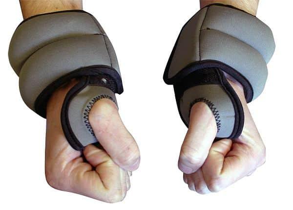 Neoprénové závaží na zápěstí inSPORTline 2x1 kg