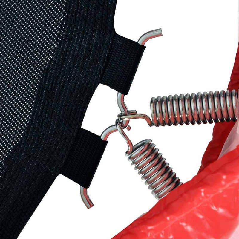 Trampolína s držadlem inSPORTline Skippy Plus 122 cm