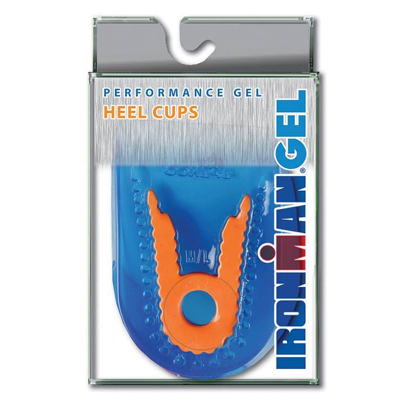 Gelové vložky pod paty IRONMAN Performance Gel Heel Cups
