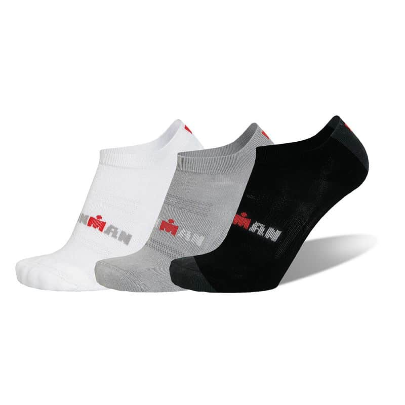 Sportovní ponožky IRONMAN Basic Low - 3 páry