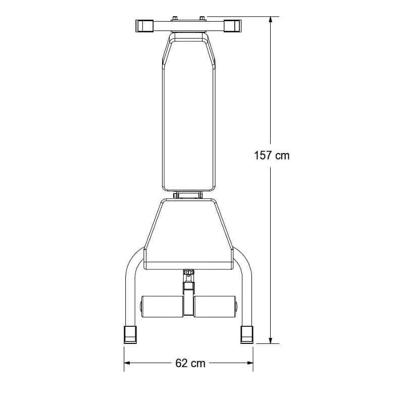 Nastavitelná posilovací lavice Body Craft F602