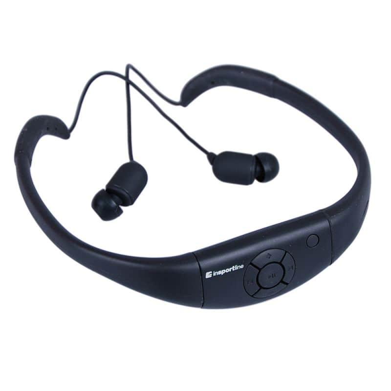 Vodotěsná sluchátka s MP3 přehrávačem inSPORTline Drumy