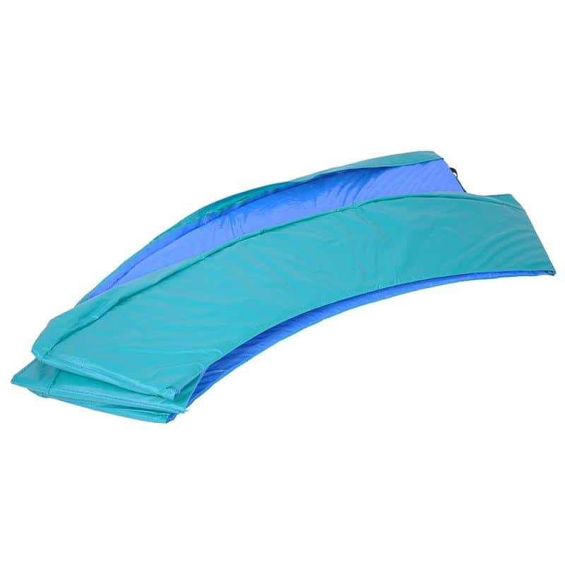 Kryt pružin na trampolínu inSPORTline 430 cm - zeleno-modrý
